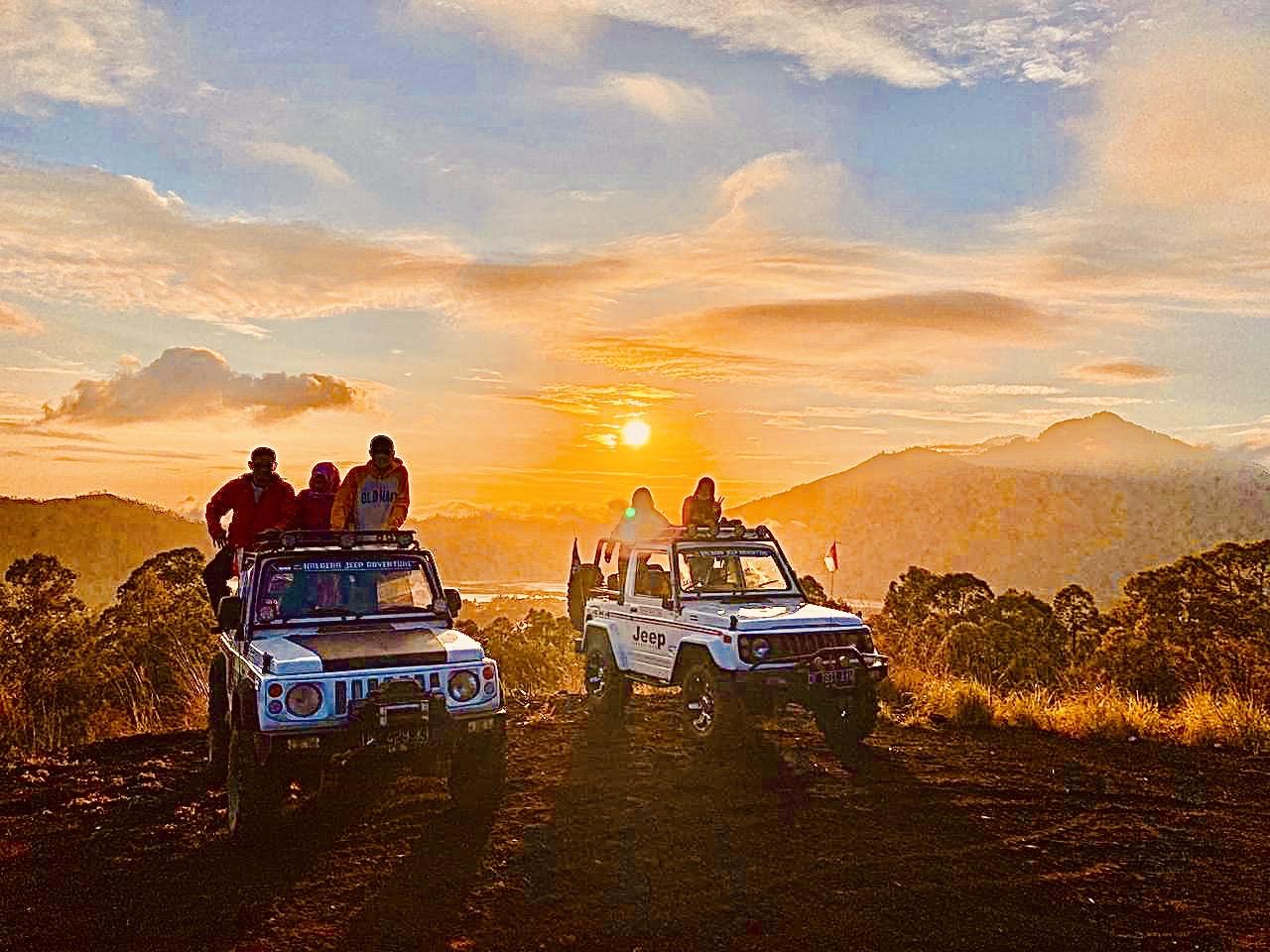 Mount Batur Sunrise Volcano trip: Bali 4WD Jeep Adventure