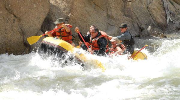 Arkansas River Rafting in Colorado