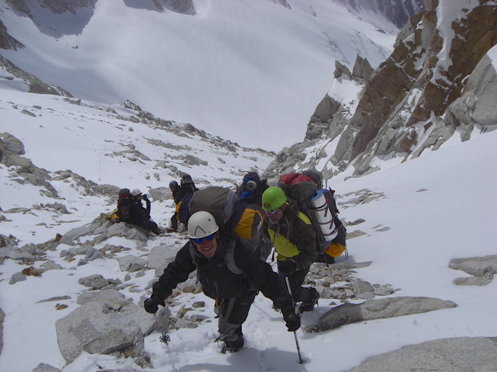 Patagonia mountaineering tour of Los Glaciares National Park