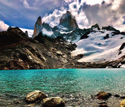Trek to Fitz Roy basecamp on 2 day Patagonia trekking adventure
