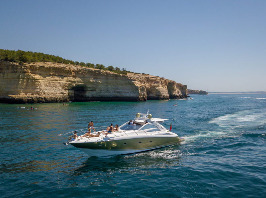 Full Day Private Yacht Charter from Albufeira, Algarve