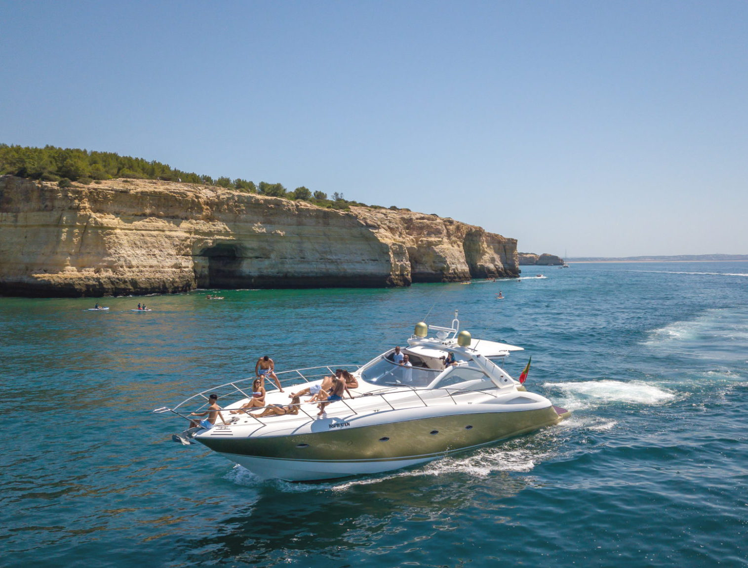 Private Morning Yacht Charter from Albufeira, Algarve