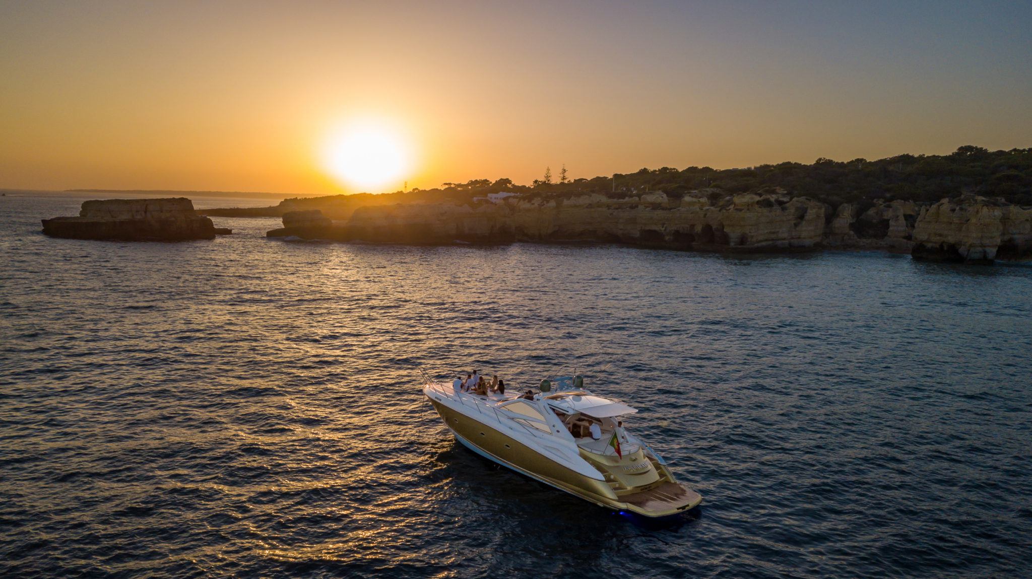 Algarve Private Sunset Yacht Charter from Marina de Albufeira