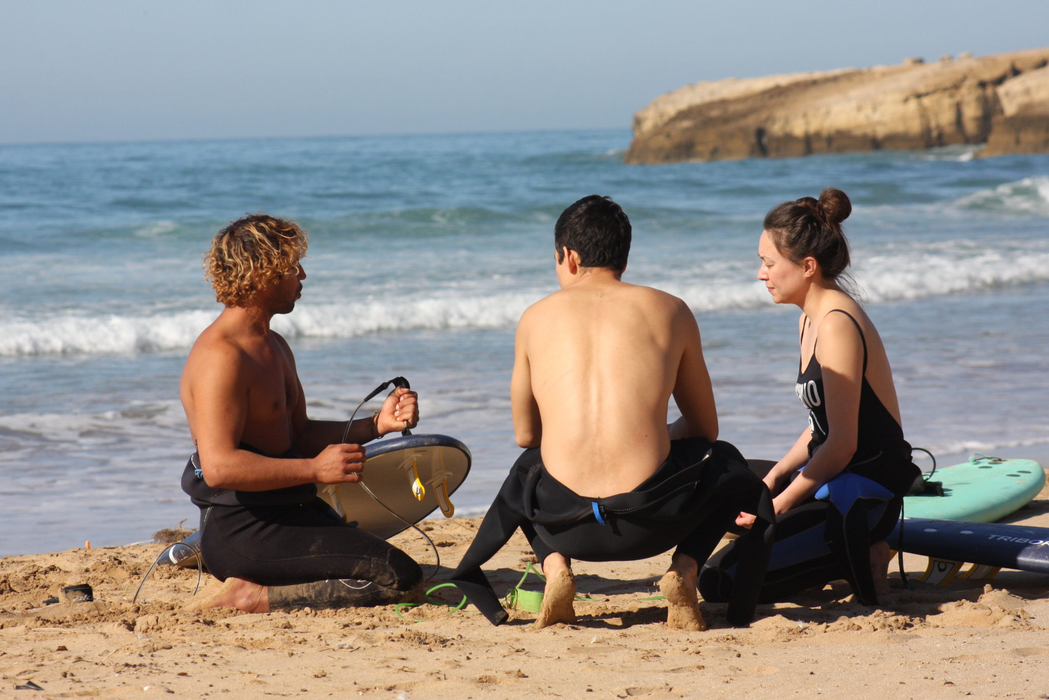 1 day Tamraght beginner surfing lessons: Learn to Surf in Morocco