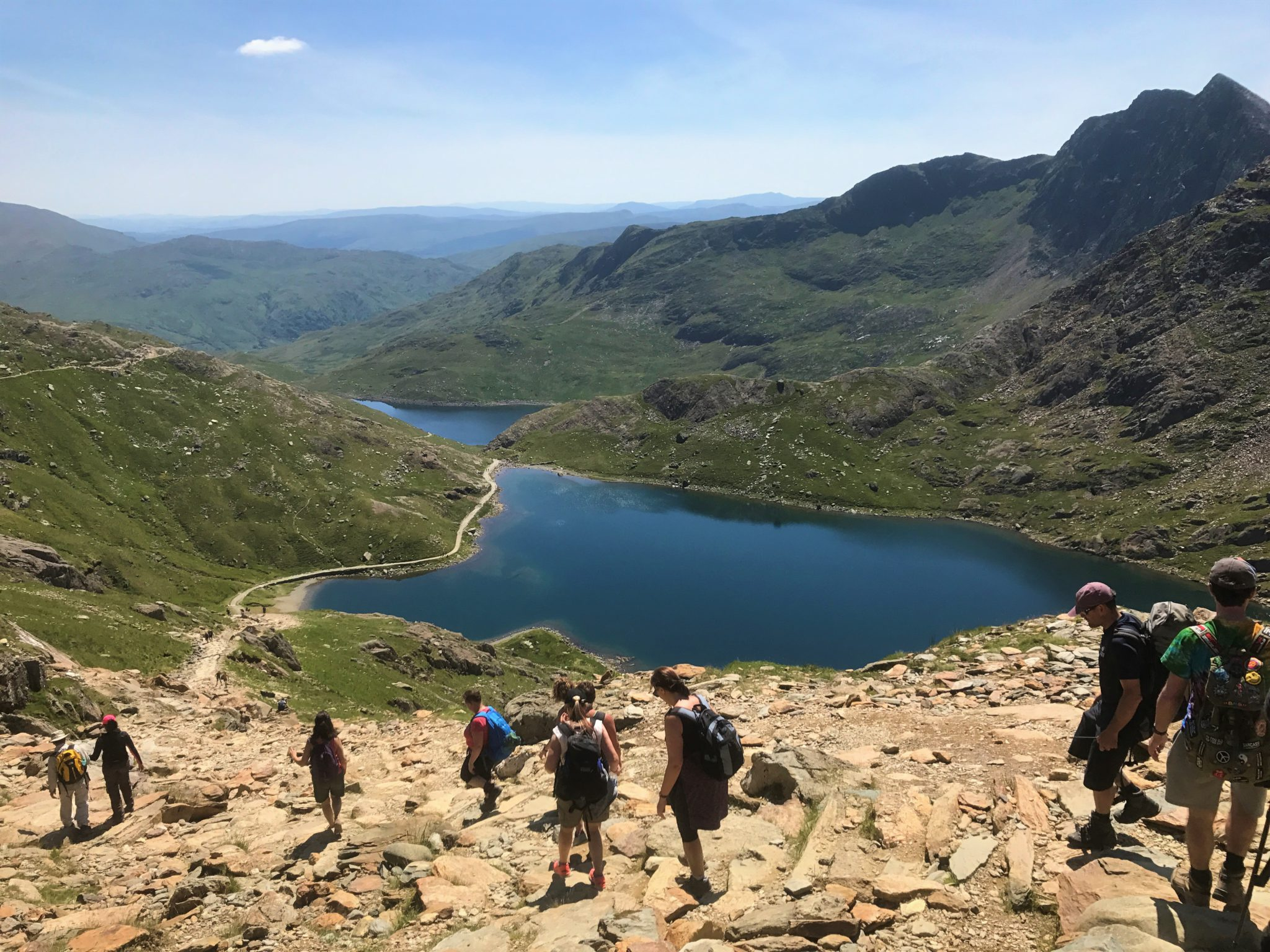 Coast to Coast Snowdonia multi activity adventure in Wales, UK