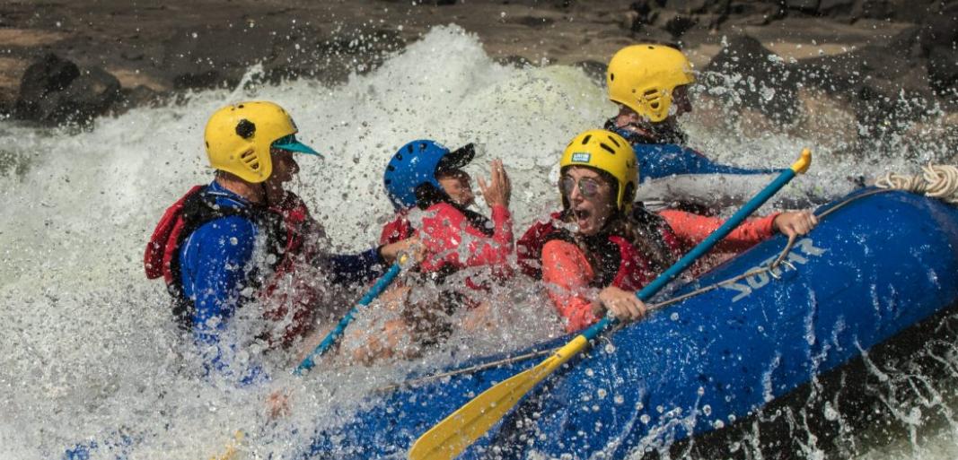 Zambezi Blast rafting & safari: Multi activity holiday in Africa