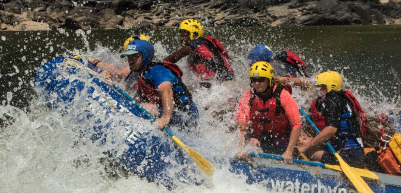 7 day mighty Zambezi rafting holiday in Africa
