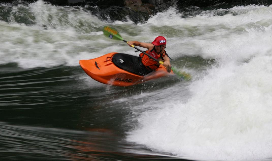 Dream African kayak adventure: Zambezi kayaking holiday in Zambia