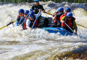 9 day rafting adventure on the Magpie River in Canada
