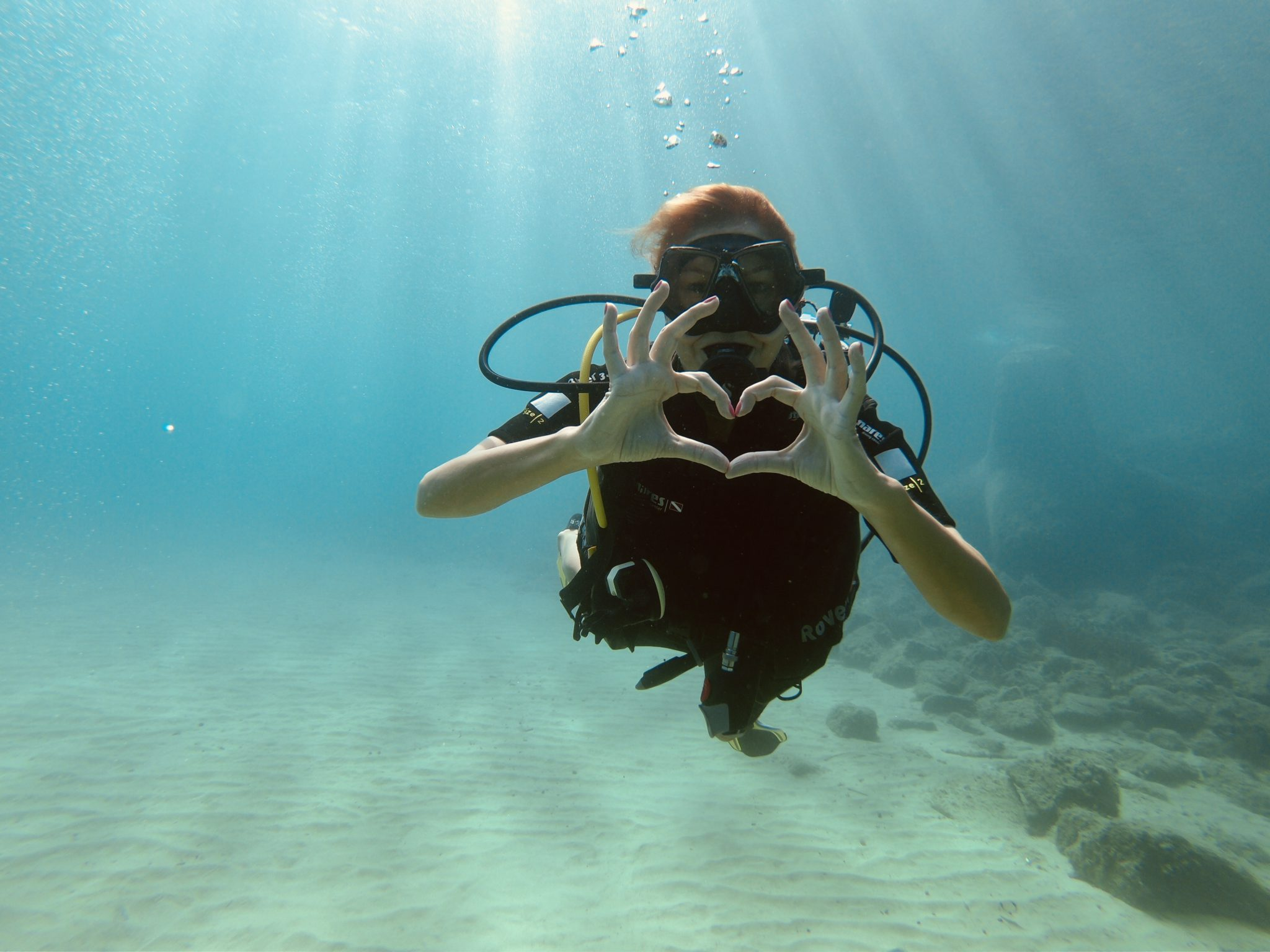 Try scuba diving in Italy: Beginner dive course on Elba Island