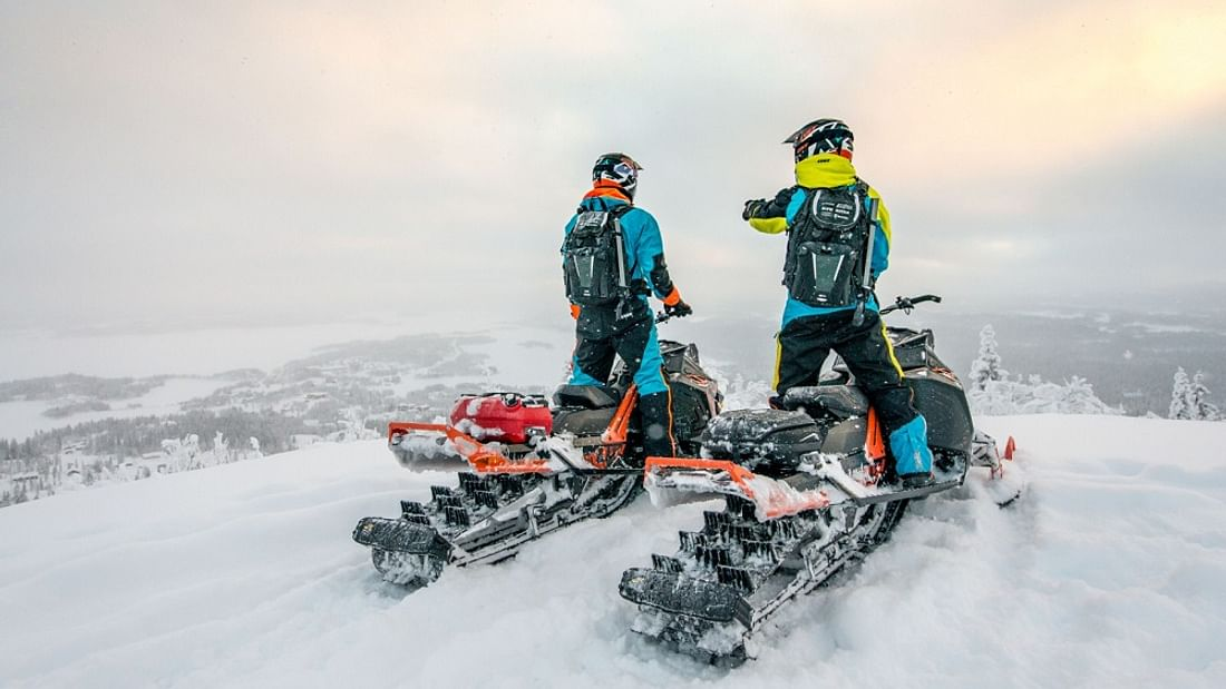 Full Day Lapland Snowmobile Experience in Rovaniemi, Finland