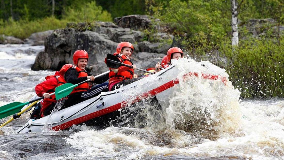 Arctic River Rafting in Lapland Adventure