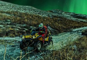 Lapland Quad Bike ride with Northern Lights