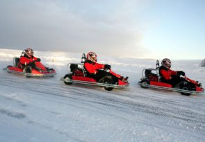 Enjoy Arctic fishing and a husky experience in Lapland all in one fantastic adventure
