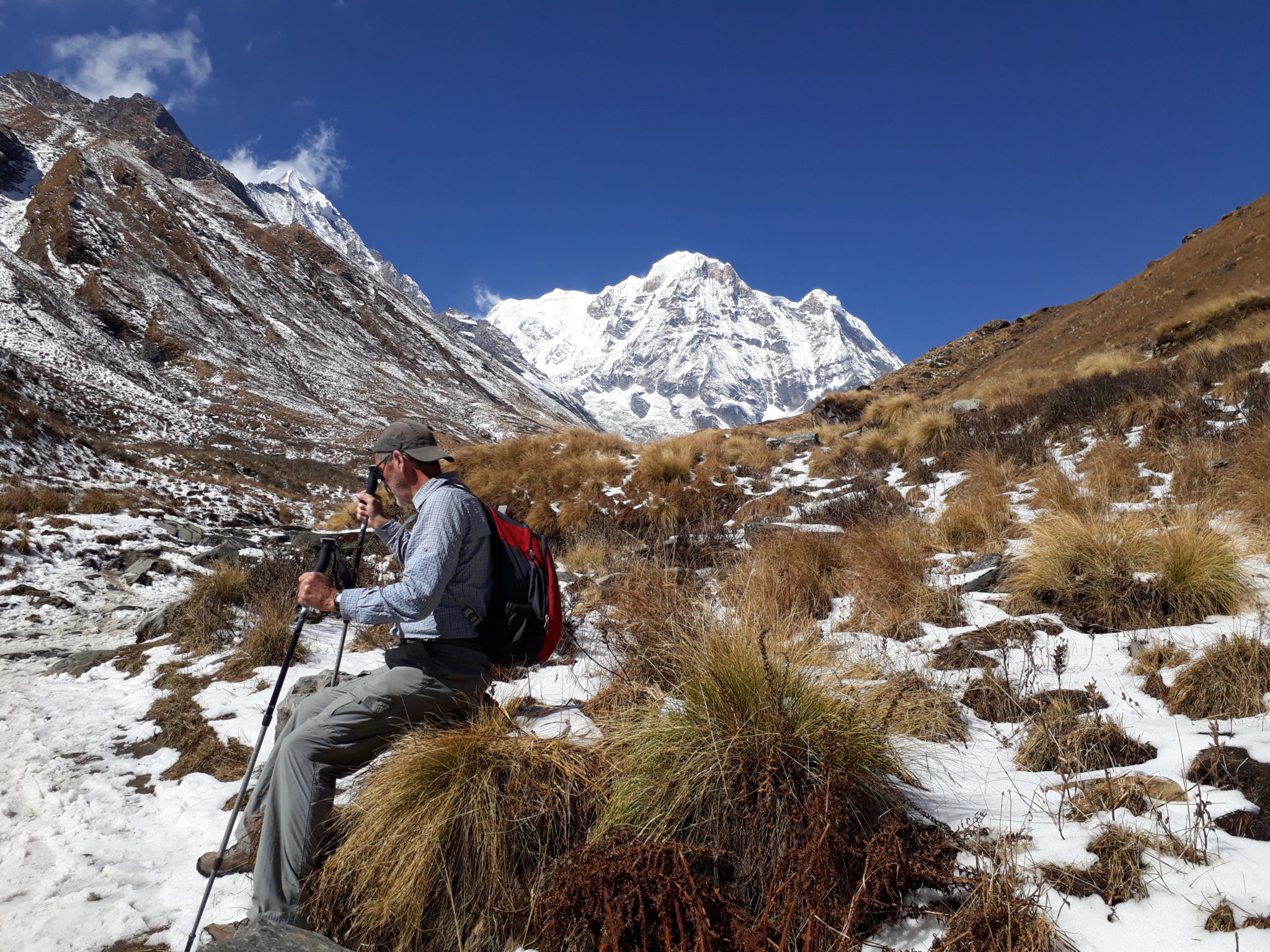 Trek to Annapurna Base camp: Himalaya trekking adventure in Nepal