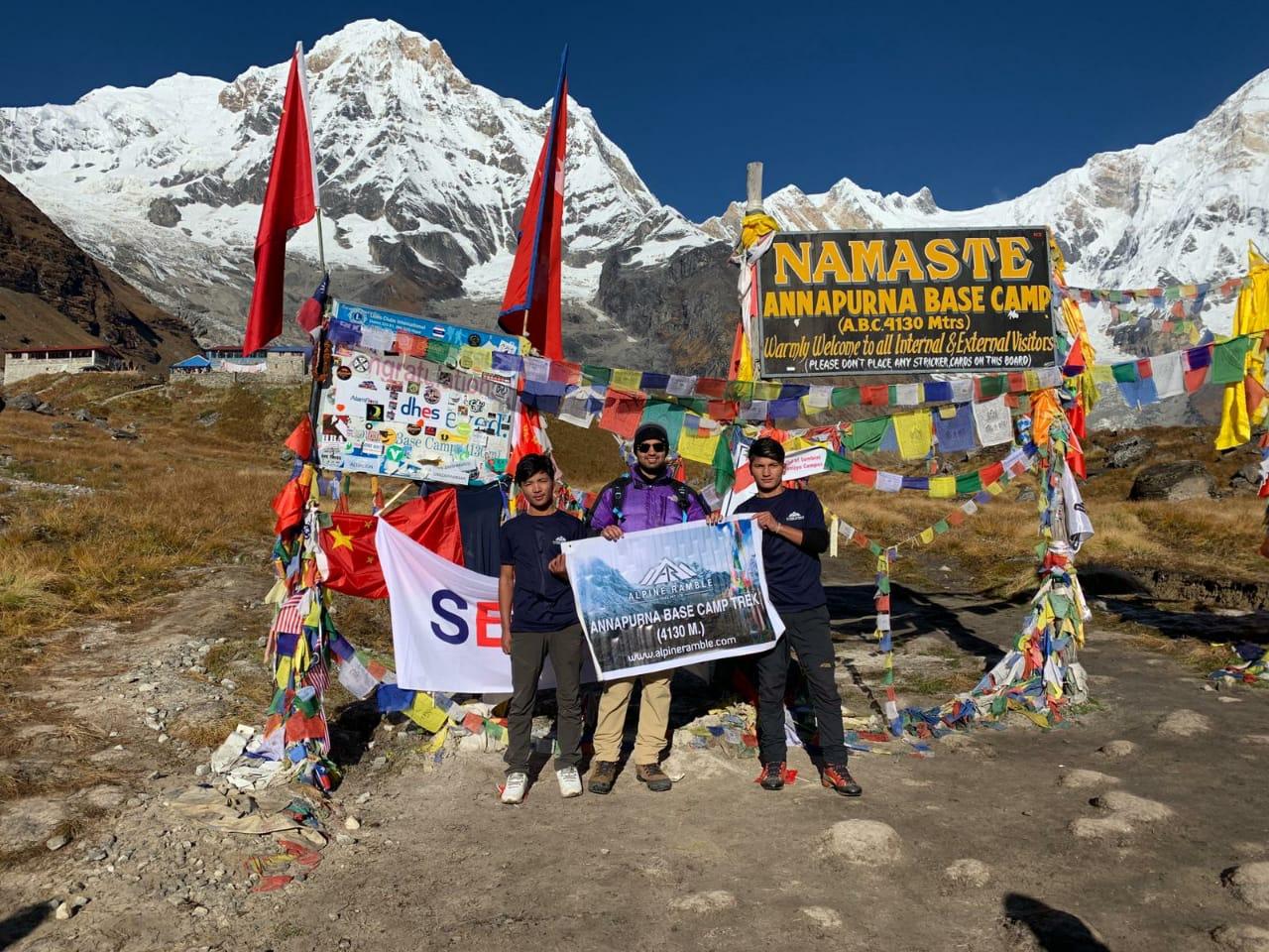 6 day Annapurna Base Camp trek: Himalaya trekking holiday