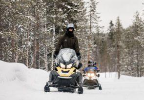 Arctic Family Snowmobile Safari in Lapland