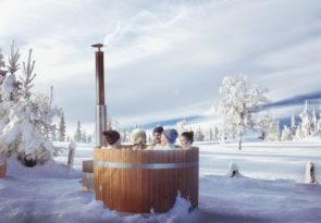 Lapland Snowshoeing & Hot Tub Wellness Day
