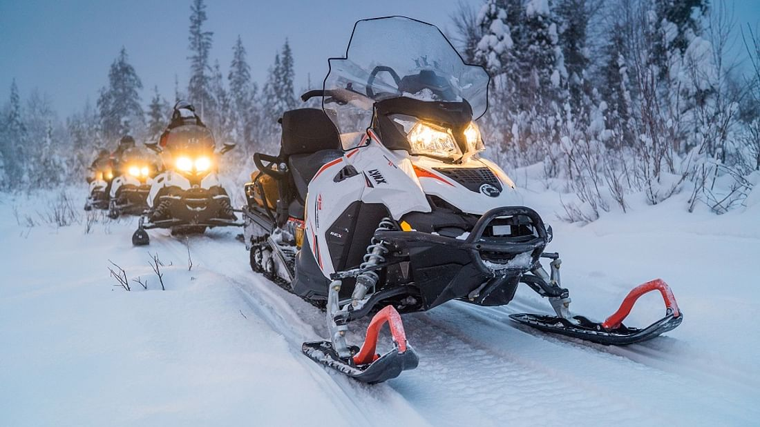 Lapland Snowmobile Arctic Adventure