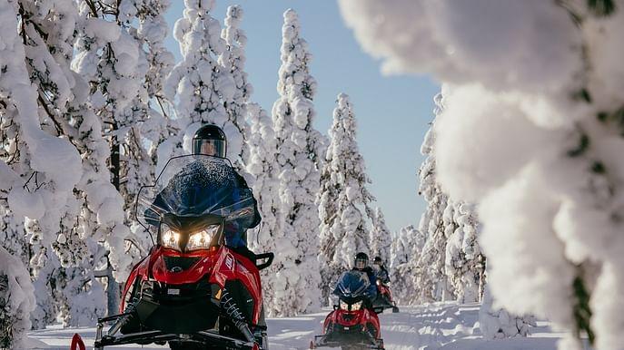 Arctic multi activity holiday at Christmas in Santa's Hometown
