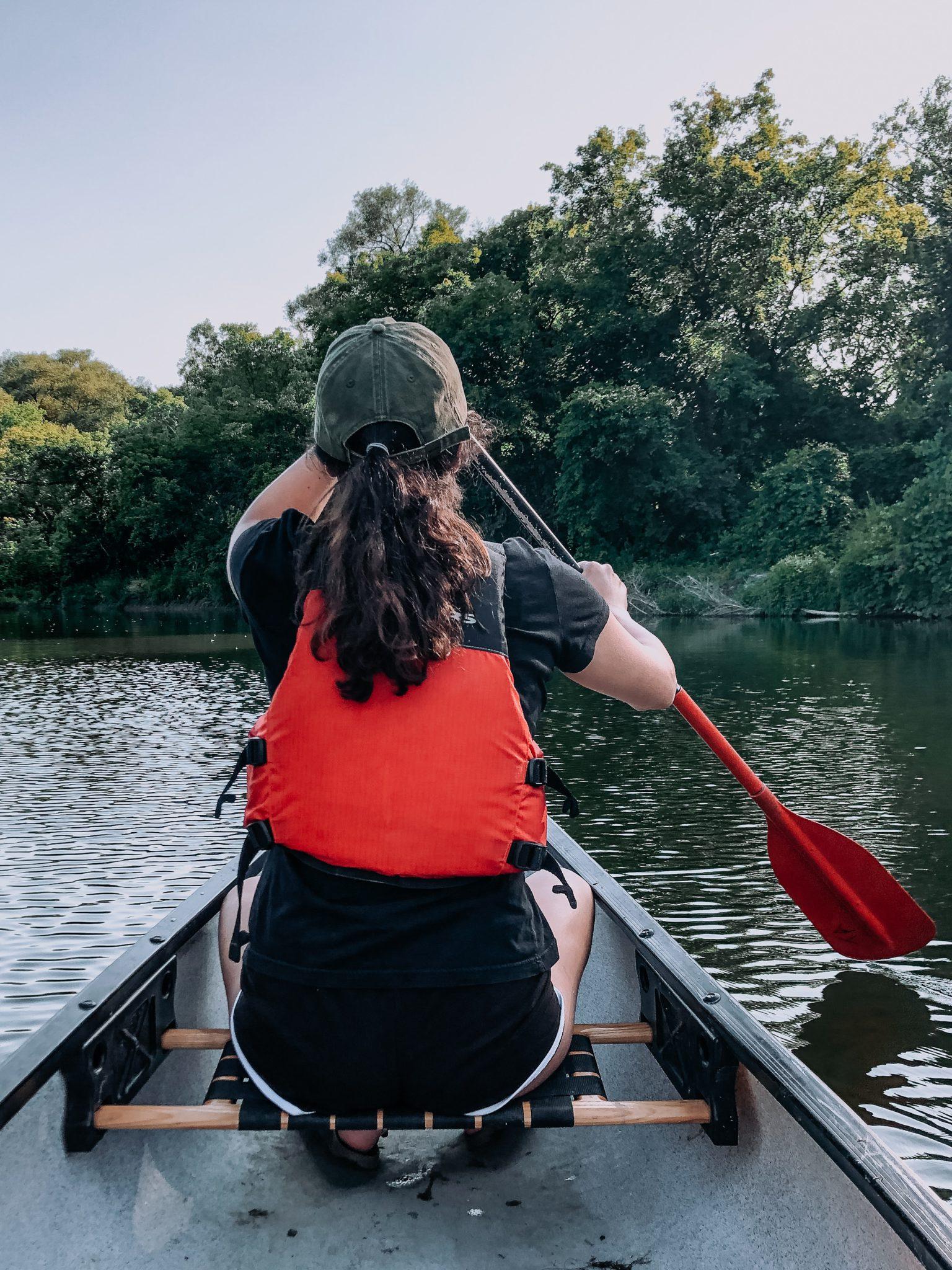 Private River Dart canoeing experience in Totnes, Devon