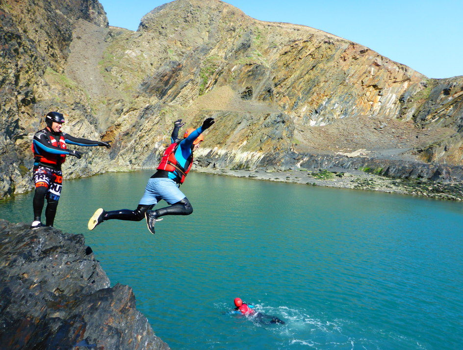 World class Pembrokeshire coasteering experience in Wales