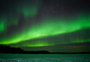 Lapland Northern Lights Hiking Experience in Finland