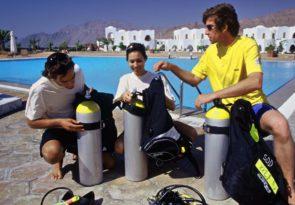 Marsa Alam PADI scuba diver course in Egypt