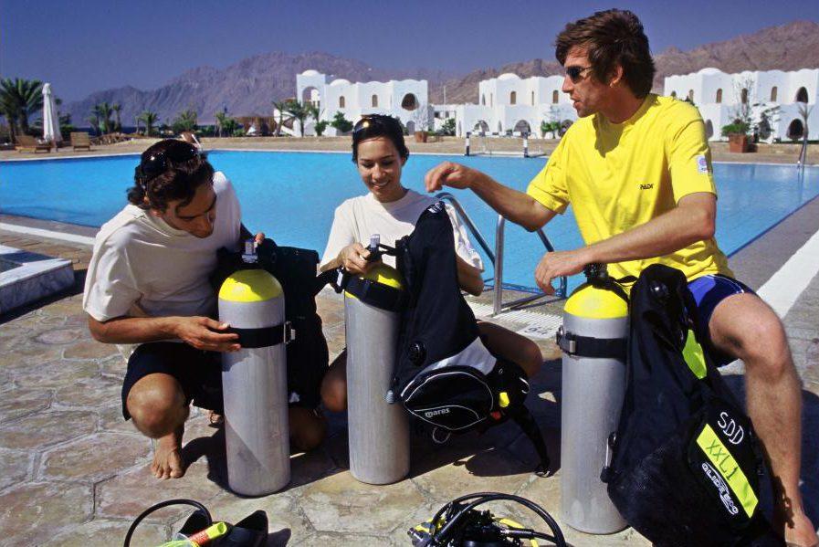 Marsa Alam PADI scuba diver course in Egypt: Part Open Water