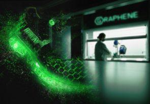 World first running footwear graphene foam innovation with Inov-8