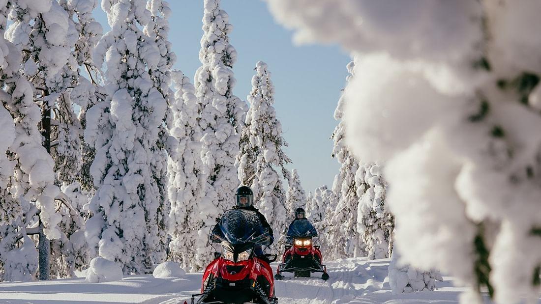 Rovaniemi Arctic multi activity day trip in Lapland, Finland