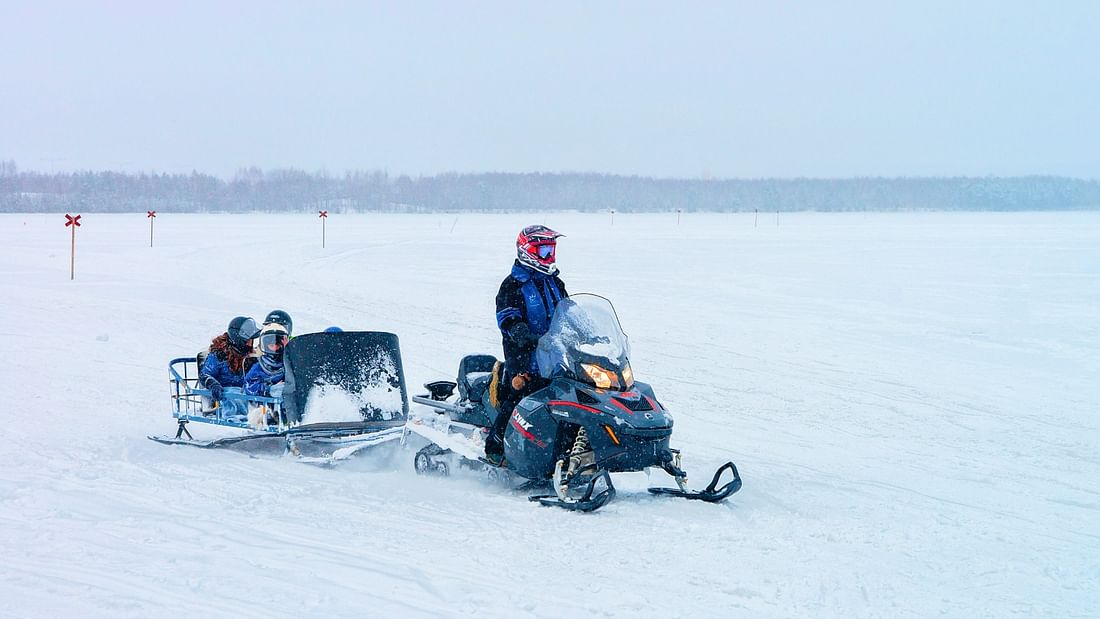 Lapland Secrets & Sleigh Ride at the Arctic Circle