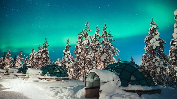 2-Day Sami culture and snowshoeing trip in Saariselkä and Inari