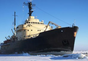 Adventure on an Arctic Icebreaker Ship in Finland
