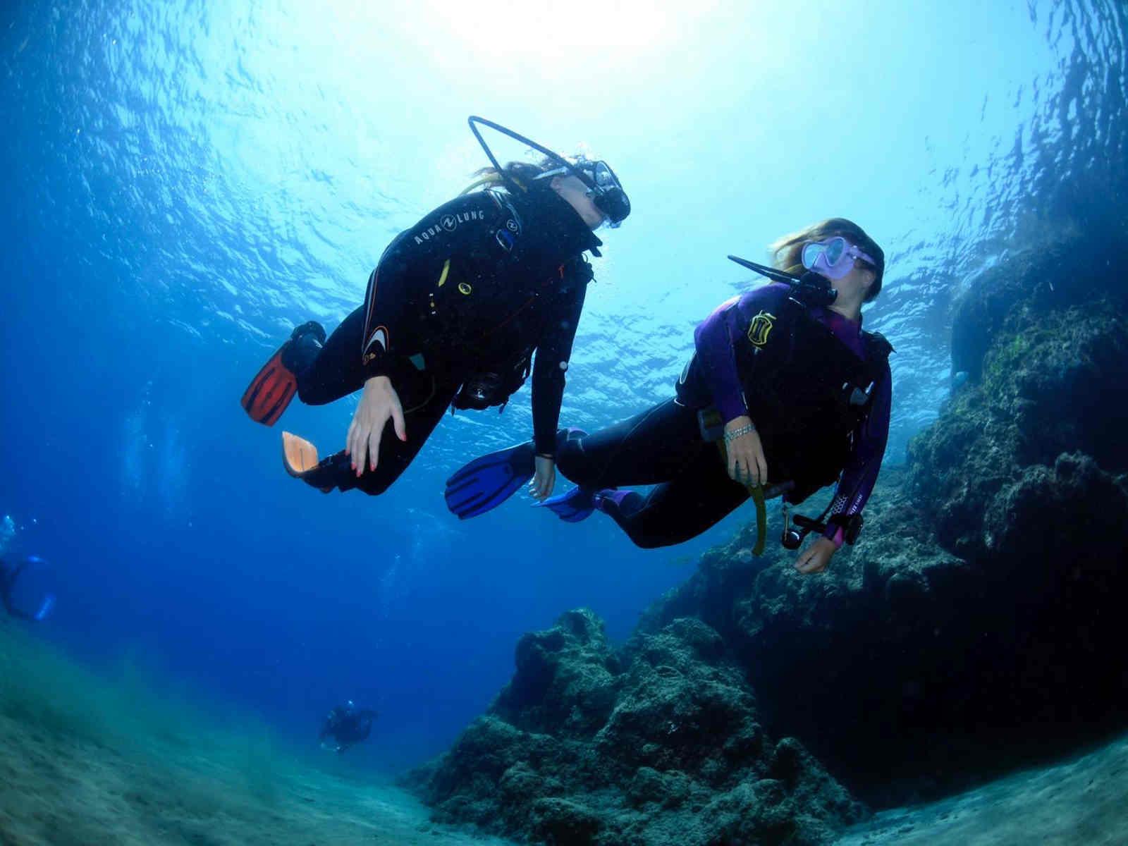 Lanzarote try scuba diving experience in Puerto Del Carmen