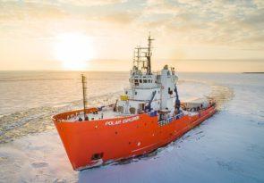 Lapland White Icebreaker Arctic Boat Adventure