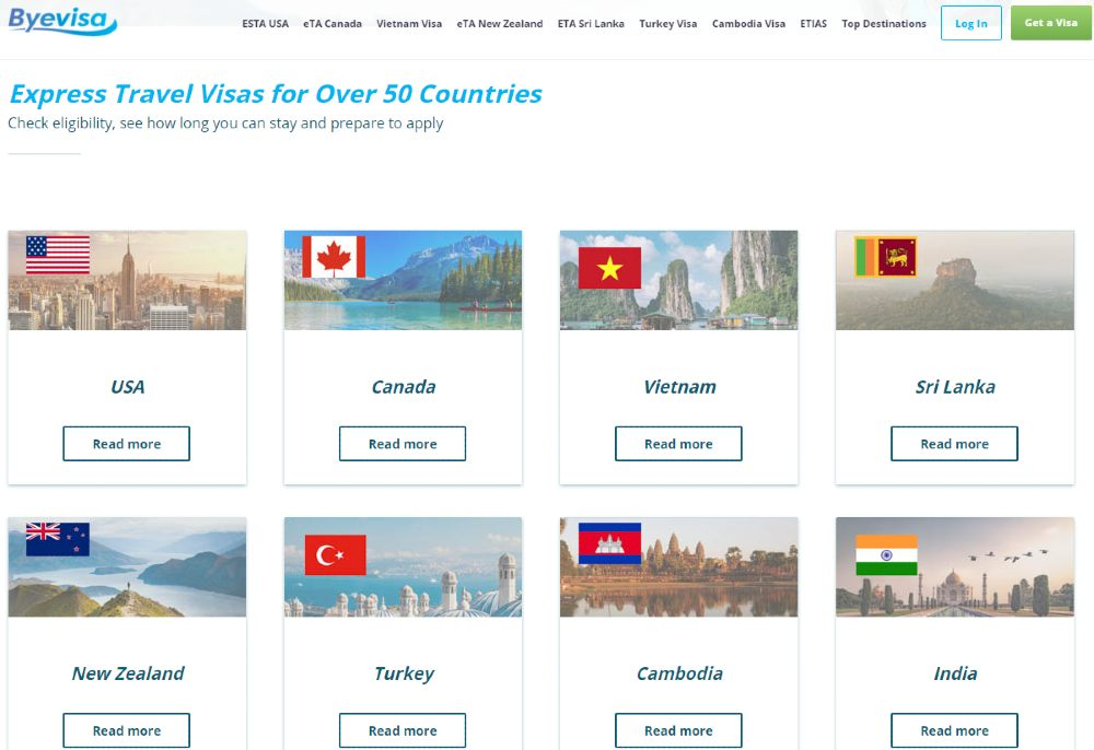 easy adventure travel screenshot from Byevisa-com