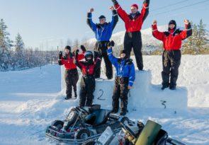 Arctic Circle Ice Karting in Lapland