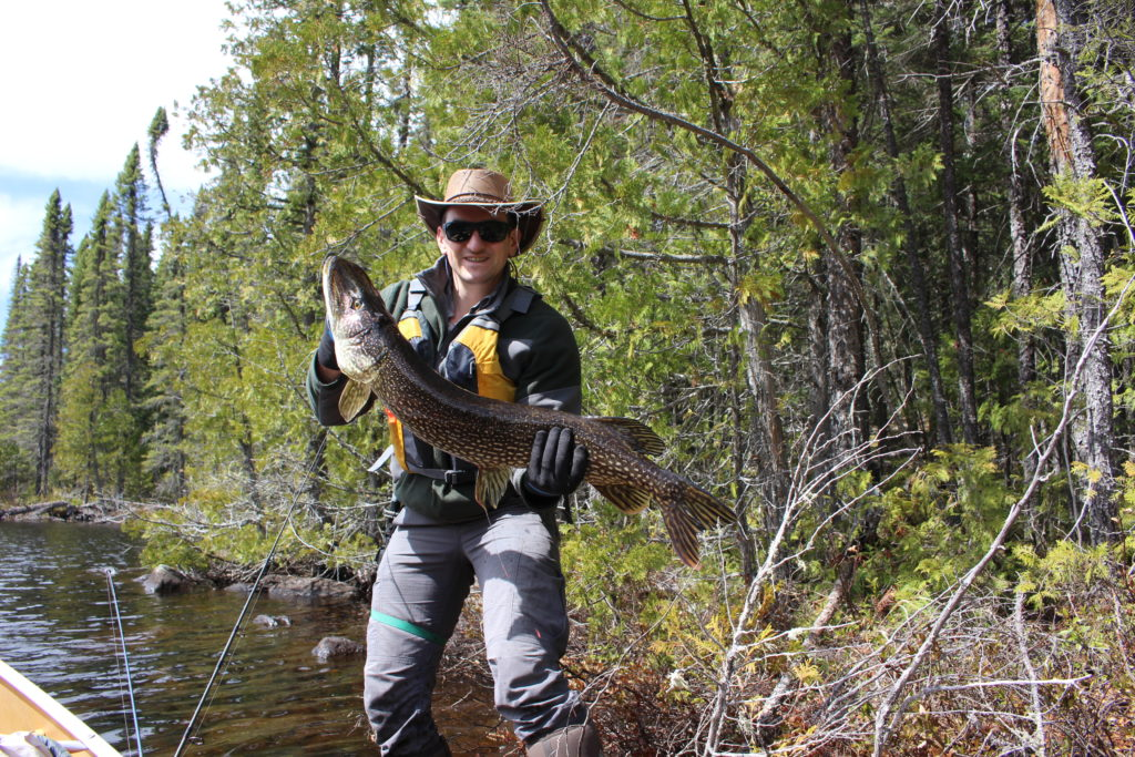 Wilderness Fishing at a Fly-in Remote Cabin in Canada