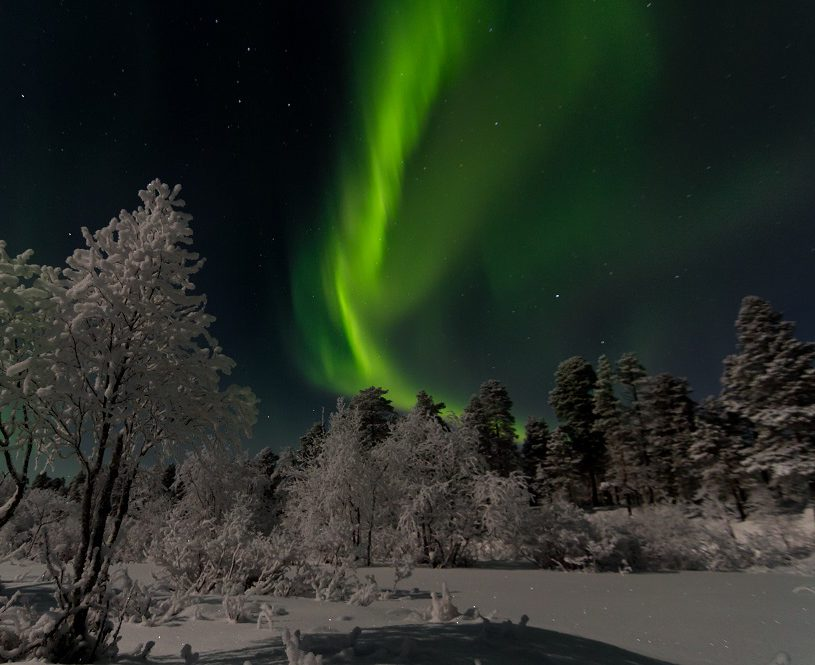 Hunting Arctic Northern Lights in Lapland in Small Groups