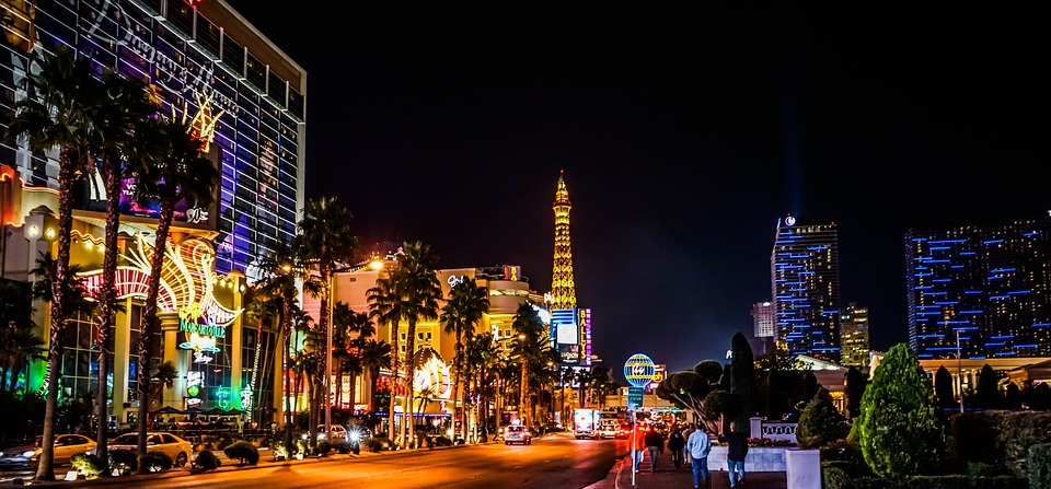 7 unmissable outdoor adventures in Las Vegas Pixabay royalty free image of The Strip