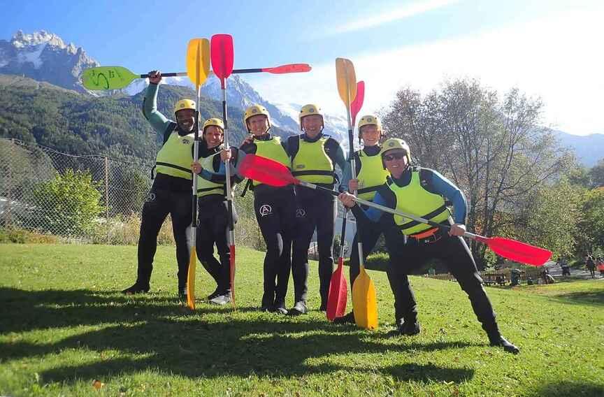 Chamonix multi activity week: Alps adventure holiday in France