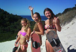 Brisbane Sandboarding