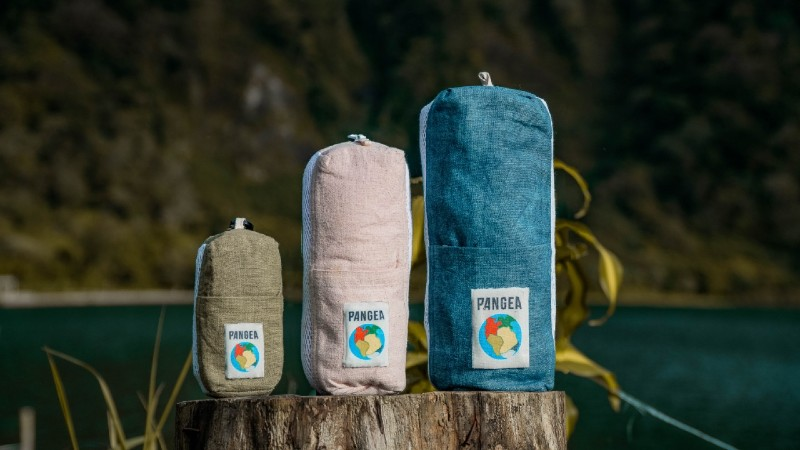 Introducing Pangea 2.0 eco travel towel for adventure and outdoors