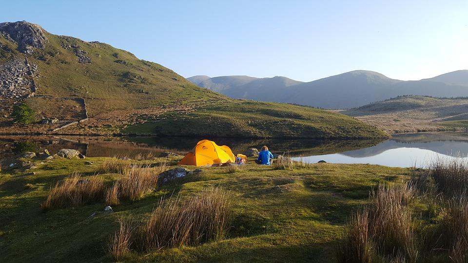 Snowdonia, Wales, camping, long distance trekking in Britain Pixabay royalty free image