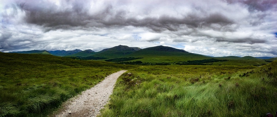 West Highland Way one of the Top 18 routes for long distance trekking in Britain Pixabay royalty free image