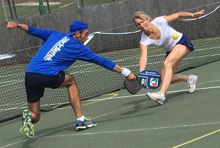 What is pickleball Image courtesy of Pickleball England facebook page