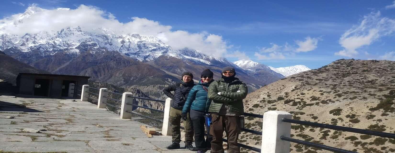 15 day Tilicho Lake and Annapurna Circuit trekking adventure in Nepal