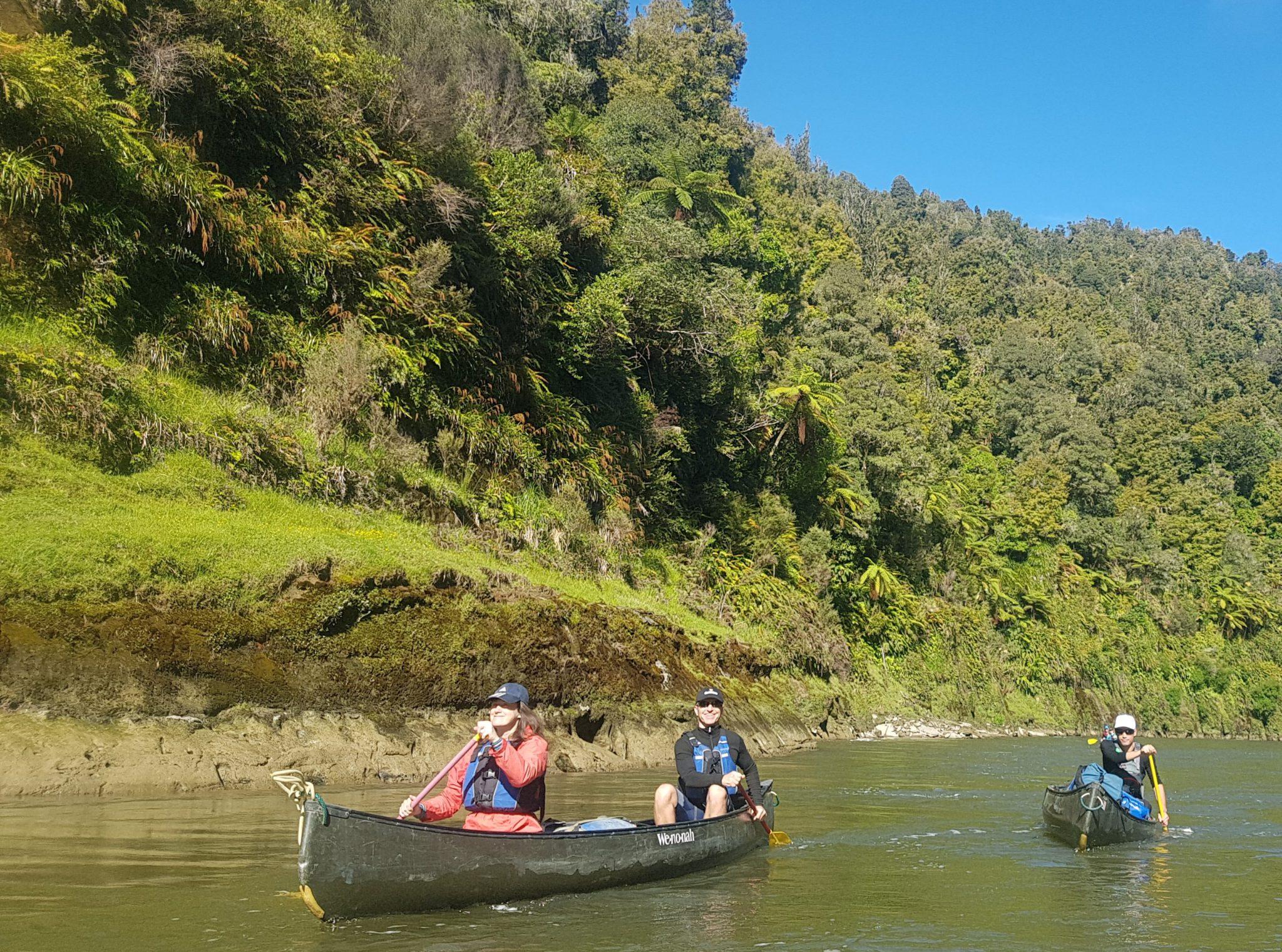 Canoe Safari New Zealand: Whanganui River tour