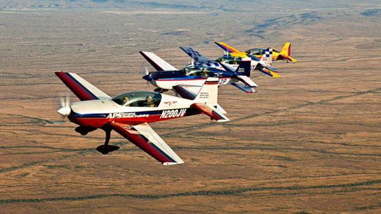 45 minute USA aerobatic flying experience in Texas or Arizona